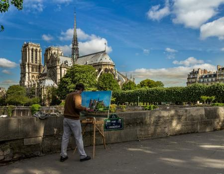 A visit to spectacular Notre Dame Cathedral
