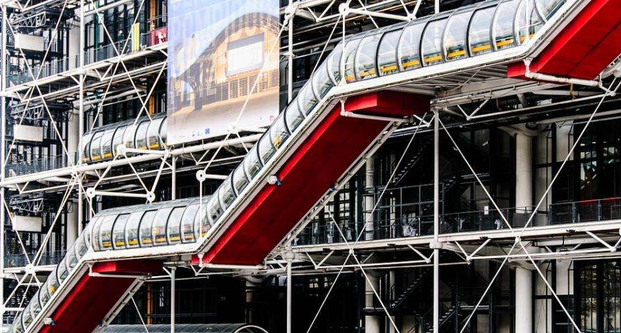Cultural life is in full swing at the Pompidou Centre