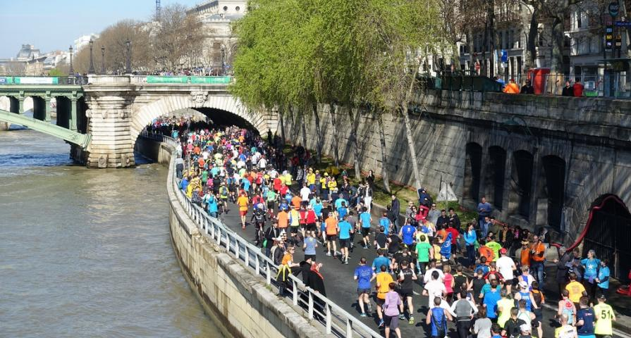 Literature and sport for the spring in Paris