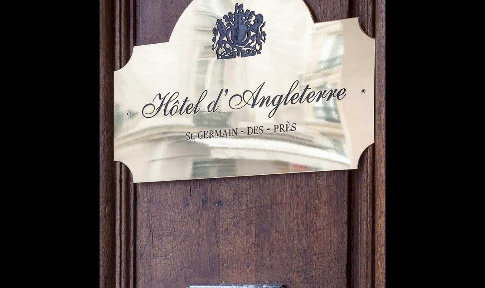 Hotel d'Angleterre - Façade de l'hôtel