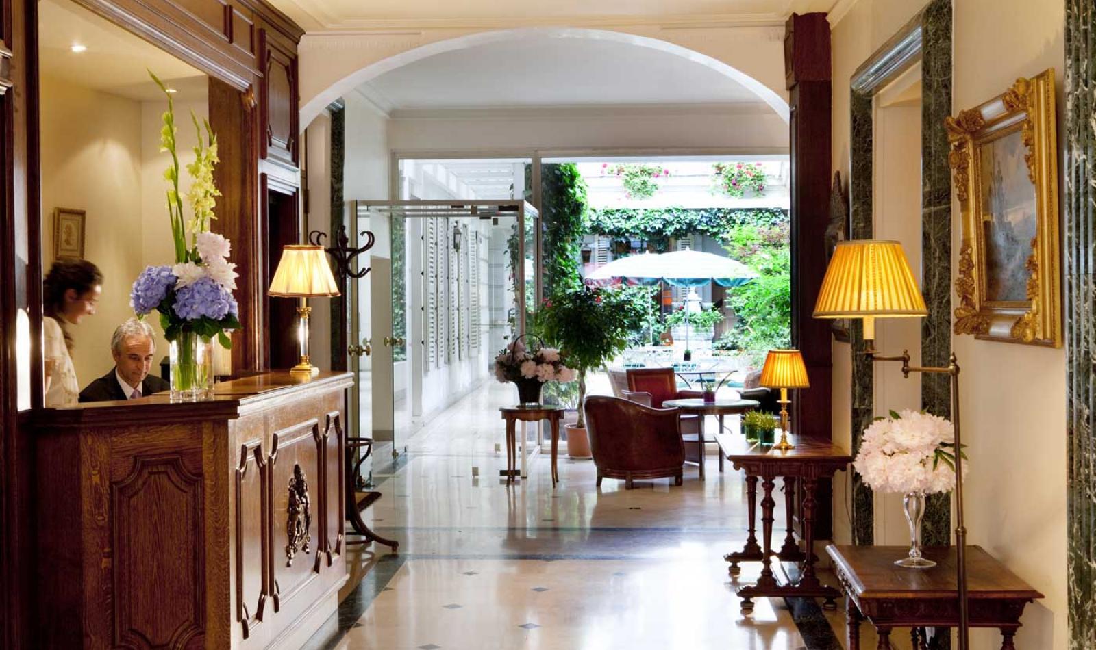 Hotel d'Angleterre - Reception