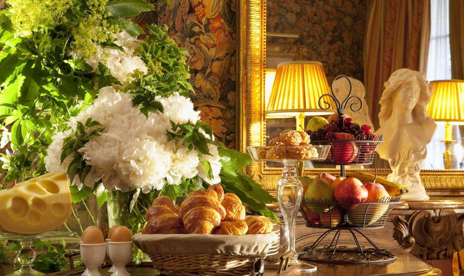 Hotel d'Angleterre - Salle du petit-déjeuner