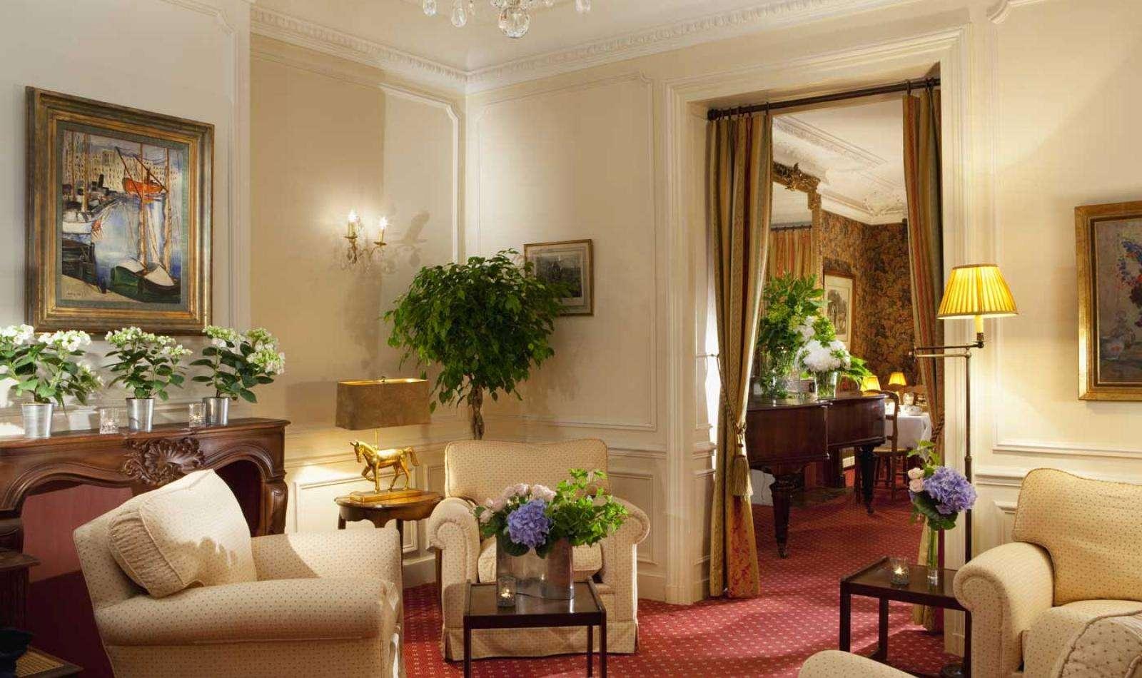 Hotel d'Angleterre - Salon