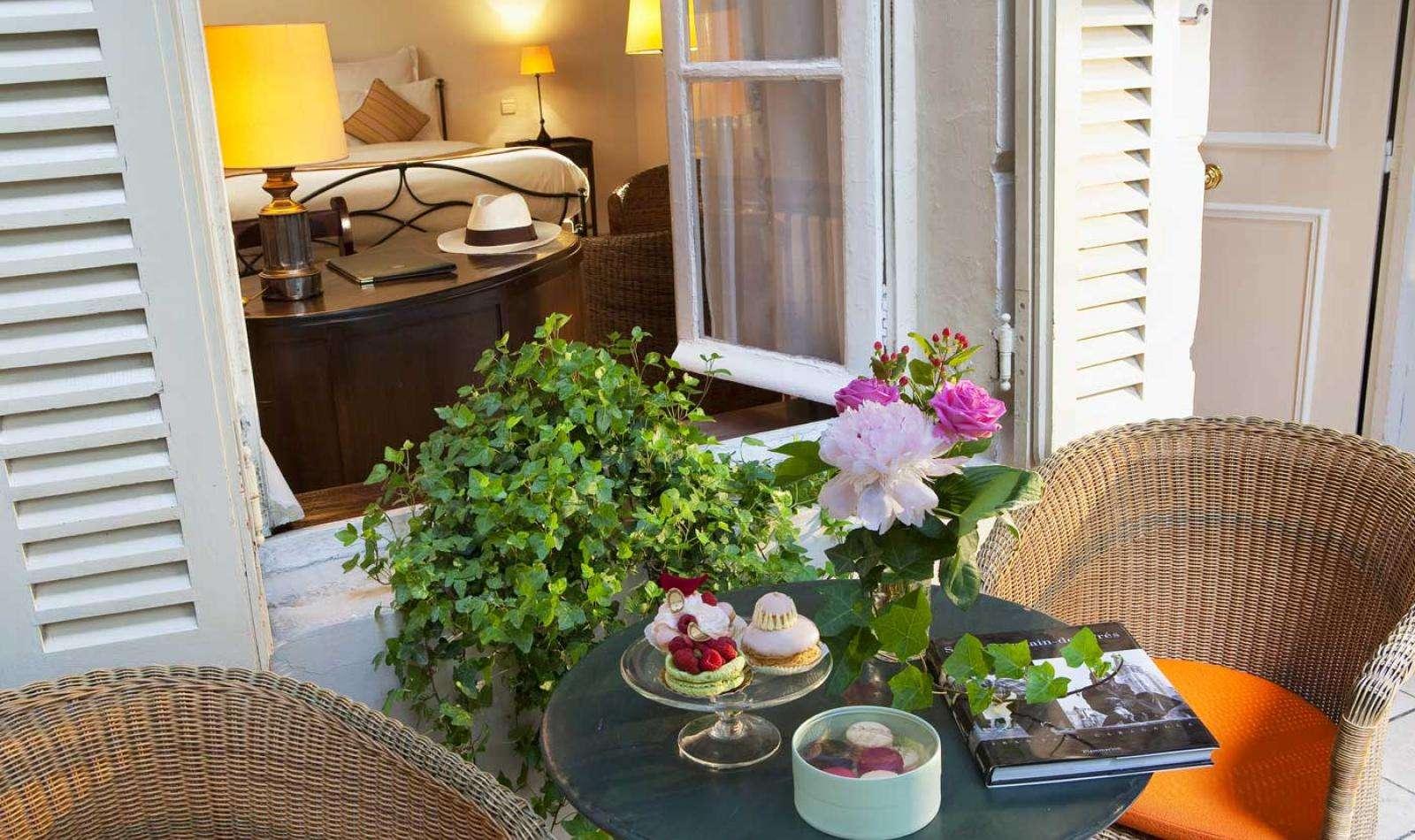 Hotel d'Angleterre - Terrasse